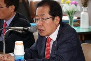 """홍준표 """"북핵은 북미중 문제…한국은 방관자"""""""