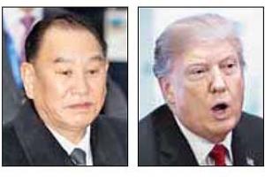 北 '비핵화 특사' 김영철, 트럼프에 친서 전달할 듯
