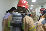 부산대병원, 화재로 환자 대피 소동 발생해