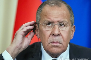 北통신, 라브로프 러시아 외무장관 평양 도착 보도