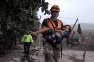 과테말라 화산 폭발… 최소 25명 사망