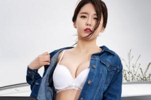 홍진영의 닮은 꼴 '미스 맥심' 송수진, '베이글녀의 정석'