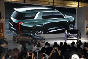 현대, 차세대 SUV '그랜드마스터' 첫 공개