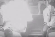 중국 버스 승객 가방서 폭발한 휴대용 충전기