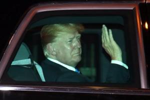 [정상회담 D-2] 트럼프 대통령, 숙소 샹그릴라호텔 도착