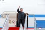 김정은, 44일간 비행기로 …