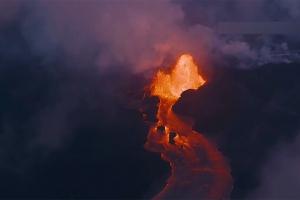 용암에 대지 6백만 평 뒤덮인 하와이 킬라우에아 섬