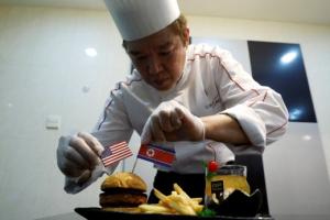 북미정상회담 식탁에 햄버거가 빠진 이유