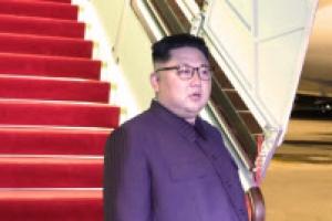 싱가포르서 출발한 중국 전용기, 베이징 도착…김영철 내렸나