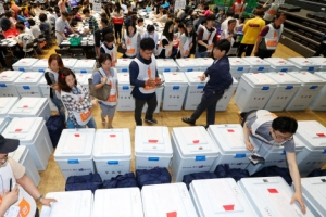 지방선거 최종투표율 60.2%…국회의원 재보선은 60.6%
