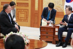 美의 '비핵화 주도' 요청…文대통령 포스트 북미회담 중재 주목