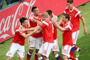 [월드컵] 대회 1호골 주인공은 러시아 가진스키