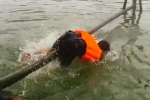 '진짜 아프겠다' 외나무다리가 무서운 이유?