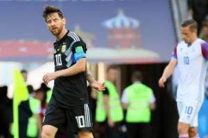'메시의 PK 막은' 아이슬란드, 아르헨과 1-1 무승부