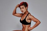 개그우먼 김혜선, 근육질 몸매 공개