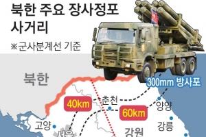 '수도권 위협' 北 장사정포 후방 철수 논의?