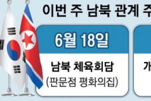 """""""북미회담 모멘텀 이어가자"""" 한반도 해빙 숨가쁜 1주일"""