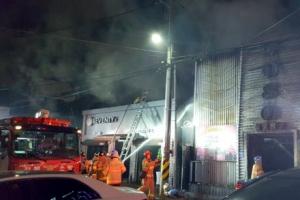 외상 시비로 방화... 군산 주점 화재로 33명 사상