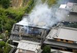 일본 오사카 지진…불에 …