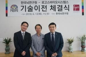 ㈜로고스바이오시스템스, 한국뇌연구원과 기술이전협약으로 '항체침투기술' 확보