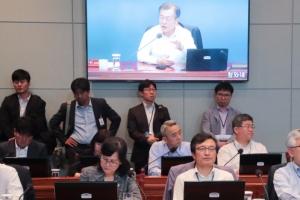[서울포토] 생중계되는 수석보좌관회의