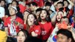 '제발!'… 열띤 응원 펼…