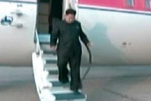 김정은 세번째 방중도 항공기로…전용기 '참매1호' 이용