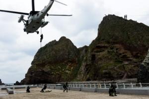 해군·해병대 '독도방어훈련'