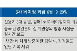 """[김정은 3차 訪中] 시진핑 """"북·중관계 공고"""" 천명… '포스트 북미' 역할론 과시"""