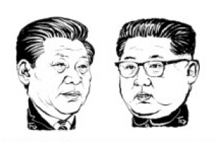 3번째 방중한 김정은, 시진핑과 베이징 인민대회당에서 정상회담