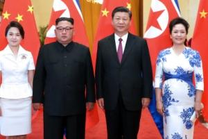 """김정은 """"미래여는 역사적 여정서 중국과  긴밀 협력할 것"""""""