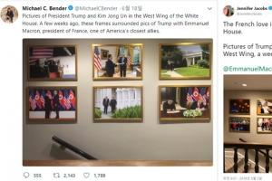 트럼프·김정은 新브로맨스 과시