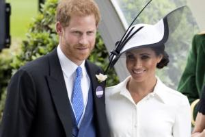 [포토] '로열 애스콧' 경마대회에 참석한 해리 왕자와 매건 왕자비