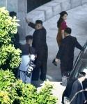 中 베이징 북한대사관 방…