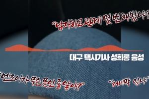 10대 여성 승객 성희롱한 대구 택시기사 논란