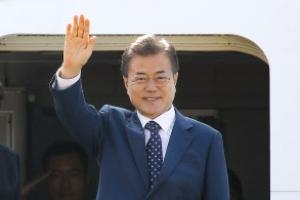 문대통령, 러시아 도착…한-멕시코전 관람도 예정