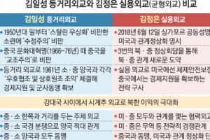 할아버지 김일성보다 진일보… 김정은식 '시계추 외교'