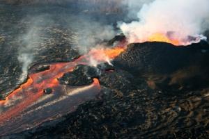 [포토] 하와이섬 킬라우에아 화산 50일째 멈추지 않는 용암