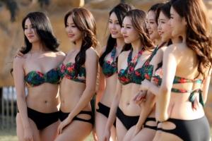 [포토] '2018 미스코리아' 후보들의 비키니 몸매 대결