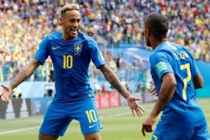 브라질, 후반 추가 시간 결승골…코스타리카에 2-0 승리