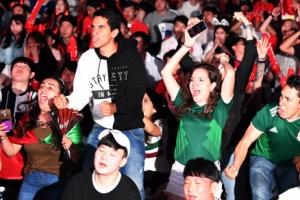 [월드컵] 용감한 멕시코 응원단