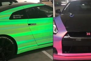 걸리는 시간은 단 1초, 언제든 마음대로 색깔 바꿀 수 있는 차