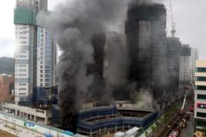 세종시 주상복합 공사장 큰 불로 3명 숨지고 37명 부상