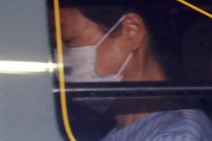 [포토] '외부 병원진료' 박근혜 전 대통령, 다시 구치소로