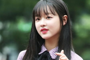 [포토] 오마이걸 유아, 심장 파고드는 하트