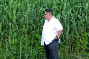 김정은, 국내 활동 시작…북중 접경 도서 찾아 현지지도