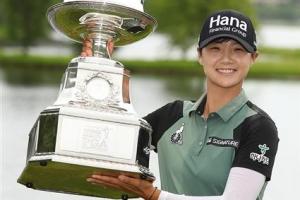 박성현, 메이저 2승 달성…KPMG 여자 PGA 챔피언십 우승