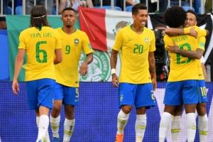 -월드컵- '네이마르 1골 1도움' 브라질, 멕시코 꺾고 8강 안착