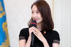 [서울포토] 소감 말하는 소녀시대 윤아