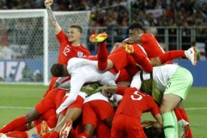 잉글랜드, 승부차기 끝에 콜롬비아 꺾어…12년 만에 8강 진출